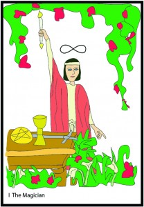 #1 The Magician from Georgie's Tarot