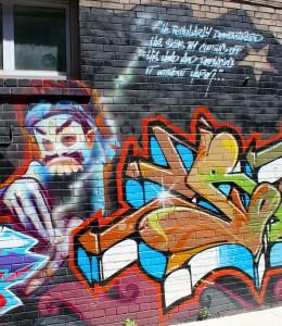 #1 Magician - Toronto Graffiti Tarot Ver. 1 by Georgianna Boehnke