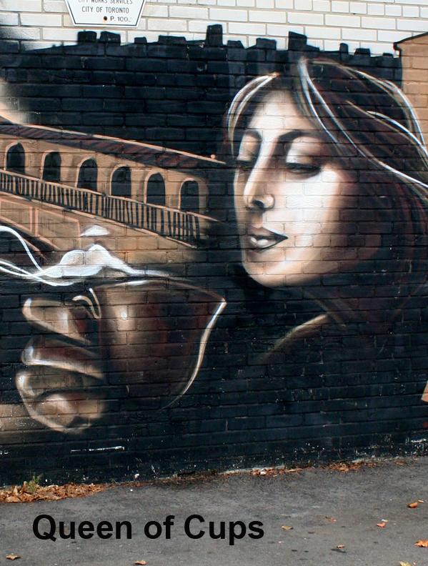 Queen of Cups - Graffiti Tarot