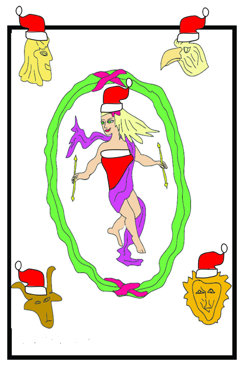 Merry Christmas from The Tarot Room