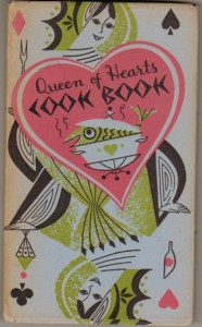 Queen of Hearts Cookbook by Peter Pauper Press, illustrated by Josephine Irwin, 1955