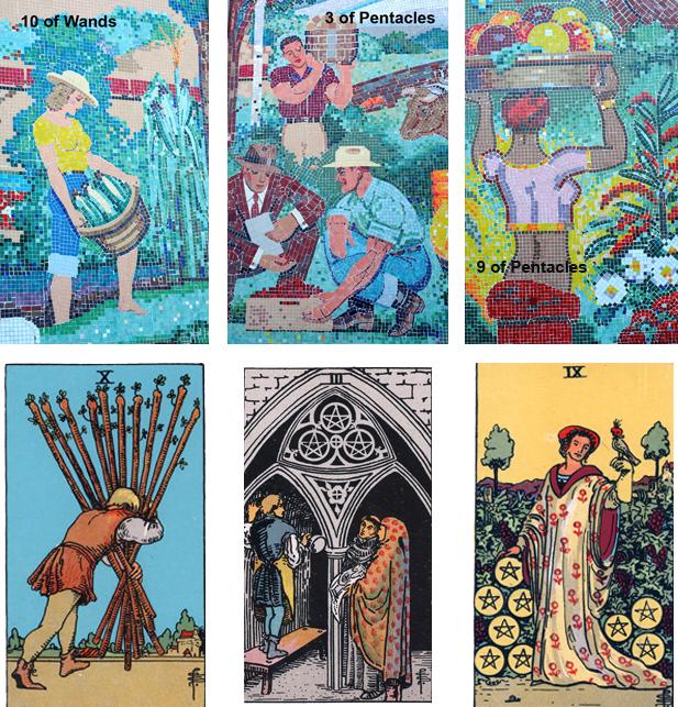 Tarot in the Mosaic