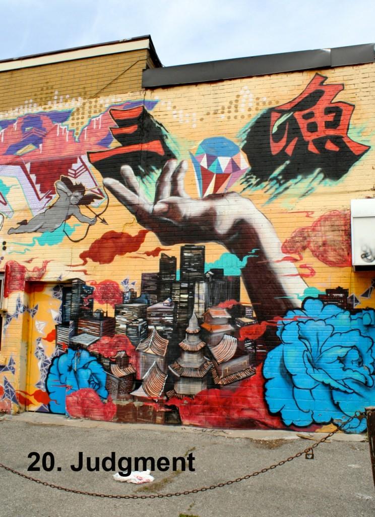 Toronto Graffiti Tarot - #20 Judgement (ver.2)