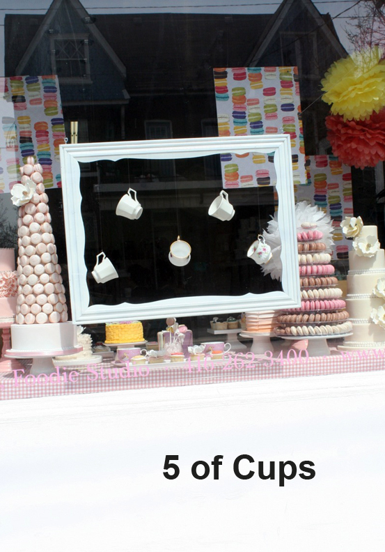 5 of Cups Sweet Shop