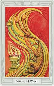 Thoth Princess of Wands