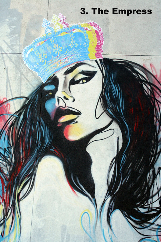 #3 The Empress - Toronto Graffiti Tarotq