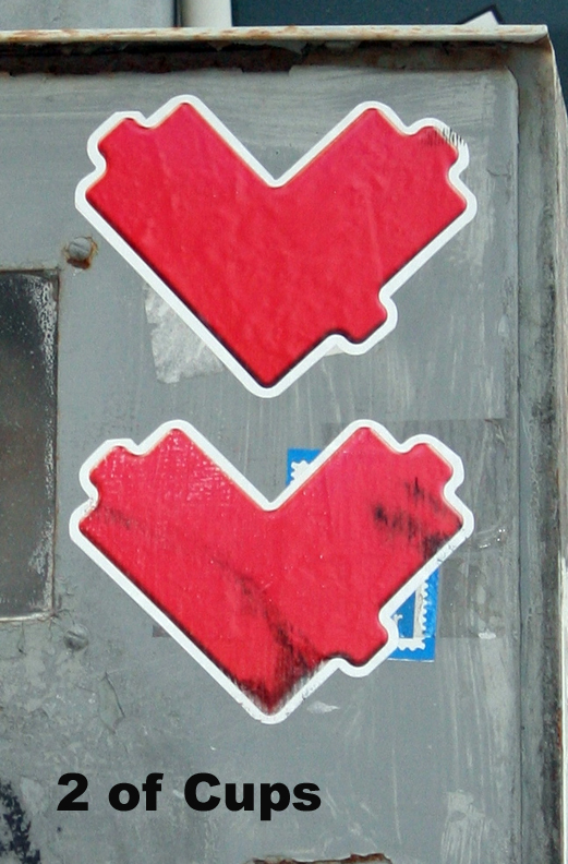 2 Cups - Toronto Graffiti Tarot (WIP)