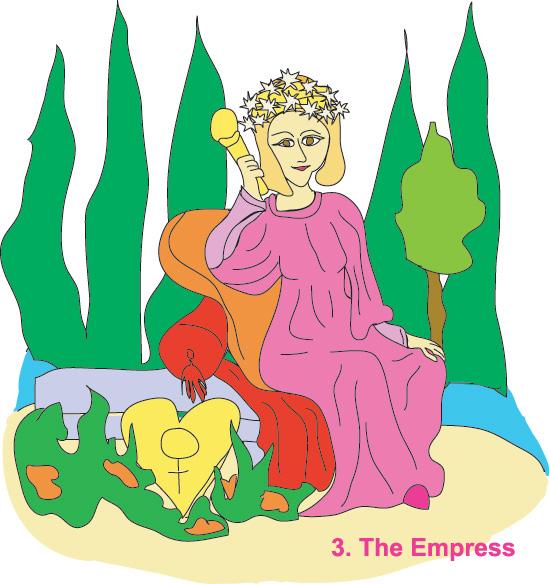 #3 The Empress - Georgie's Tarot