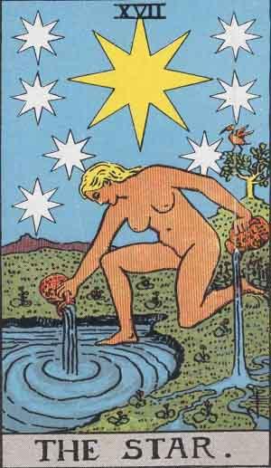 #17 The Star - Rider Waite Smith Tarot