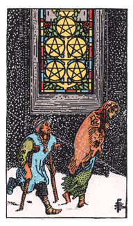 5 of Pentacles - RWS Tarot