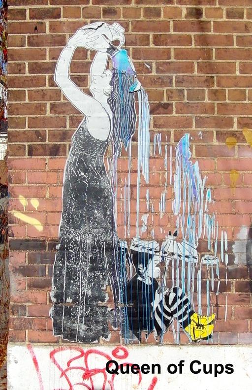 Queen of Cups - Toronto Graffiti Tarot