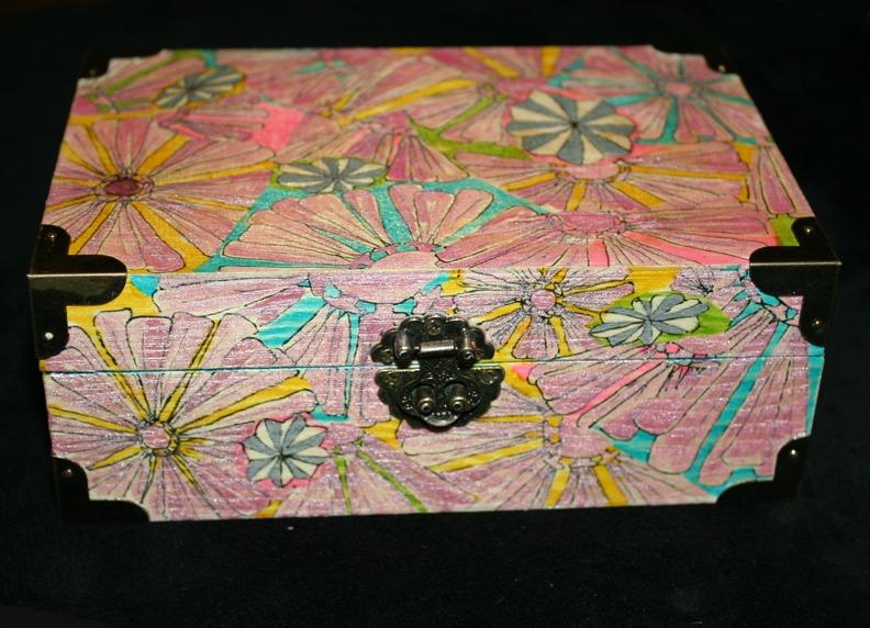 tarot box by georgie