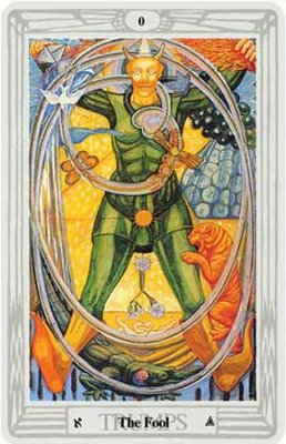 #0 The Fool - Thoth Tarot