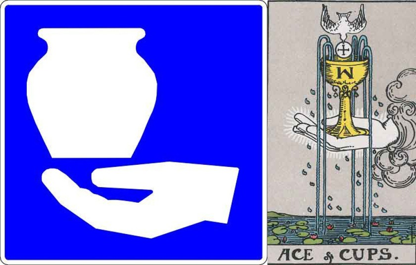 Artisans and the RWS Ace of Cups