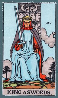 King of Swords - Rider Waite Smith Tarot