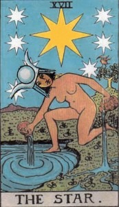 Moon in Aquarius - High Priestess in the Star's Clothing