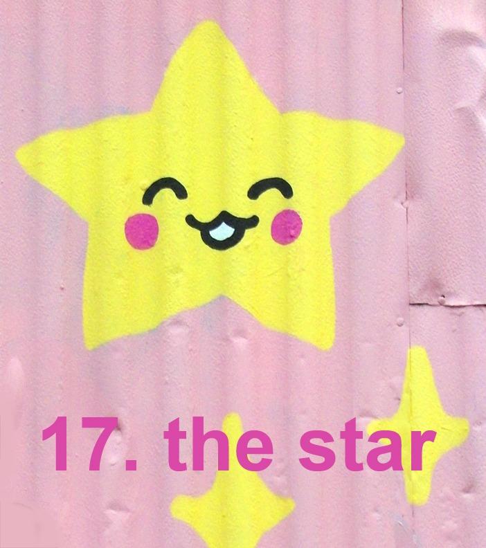 #17 The Star - Toronto Graffiti Tarot