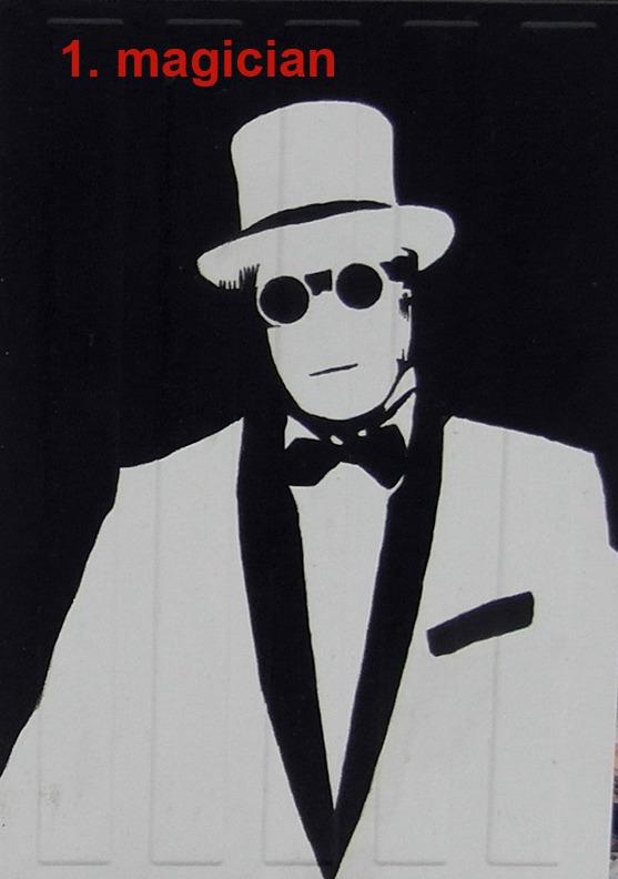 #1 The Magician - Toronto Graffiti Tarot