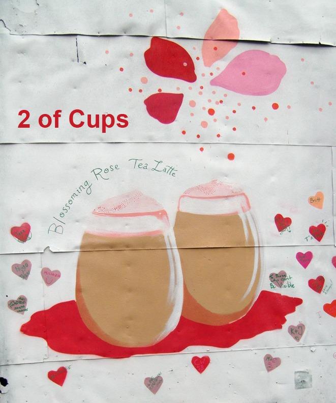 2 of Cups - Toronto Graffiti Tarot