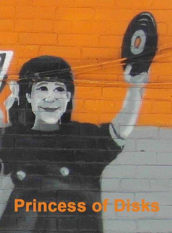 Princess of Disks - Toronto Graffiti Tarot