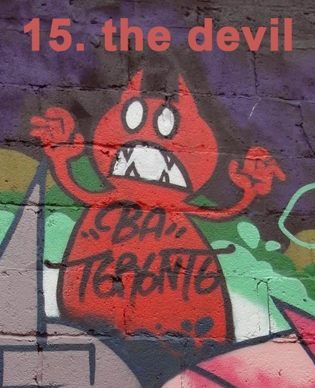 #15 The Devil - Toronto Graffiti Tarot