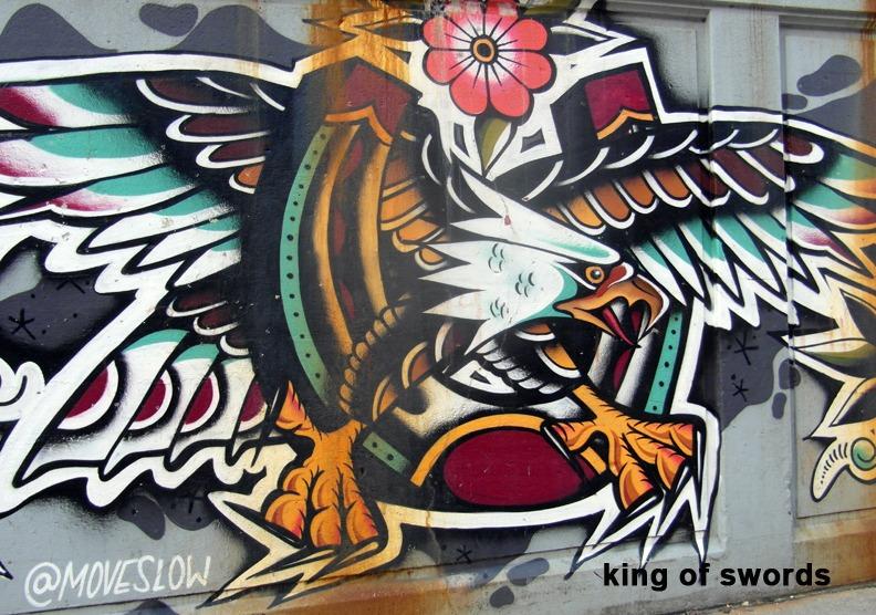King of Swords - Toronto Graffiti Tarot