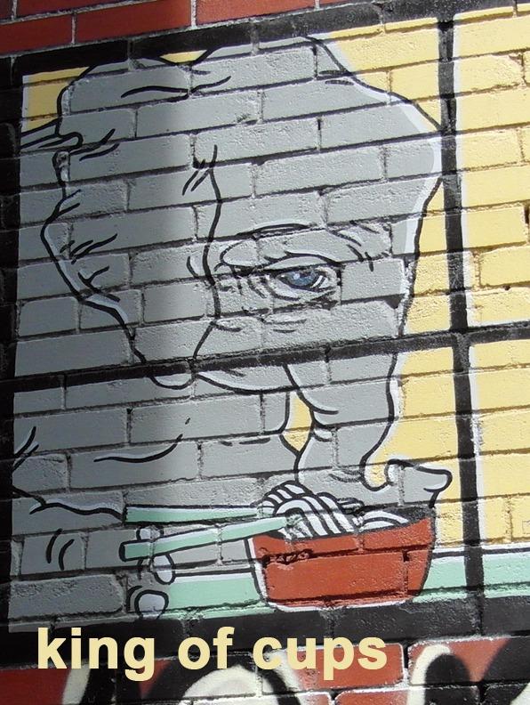 King of Cups - Toronto Graffiti Tarot