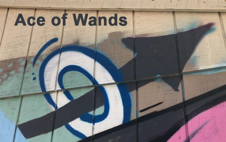 Ace of Wands - Toronto Graffiti Tarot