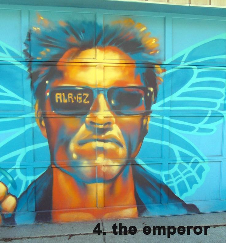 #4 The Emperor - Toronto Graffiti Tarot