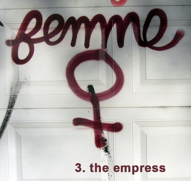 #3 The Empress - Toronto Graffiti Tarot